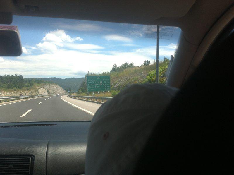 De camino: distancias