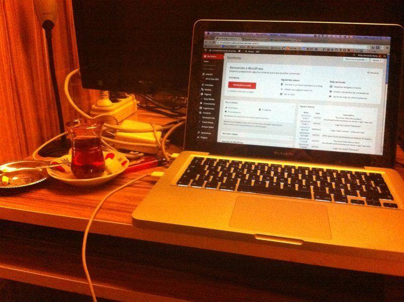 Trabajando de nuevo en el blog desde Estambul