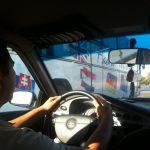 Taxi entre Samarkanda y Tashkent