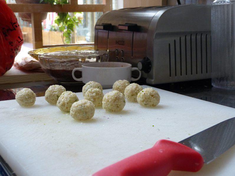 Bolas de arroz Fei Fei