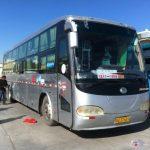Autobús en Dunhuang (China)