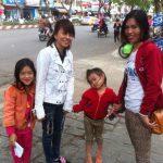 La entrada a Hanoi desde el autobús