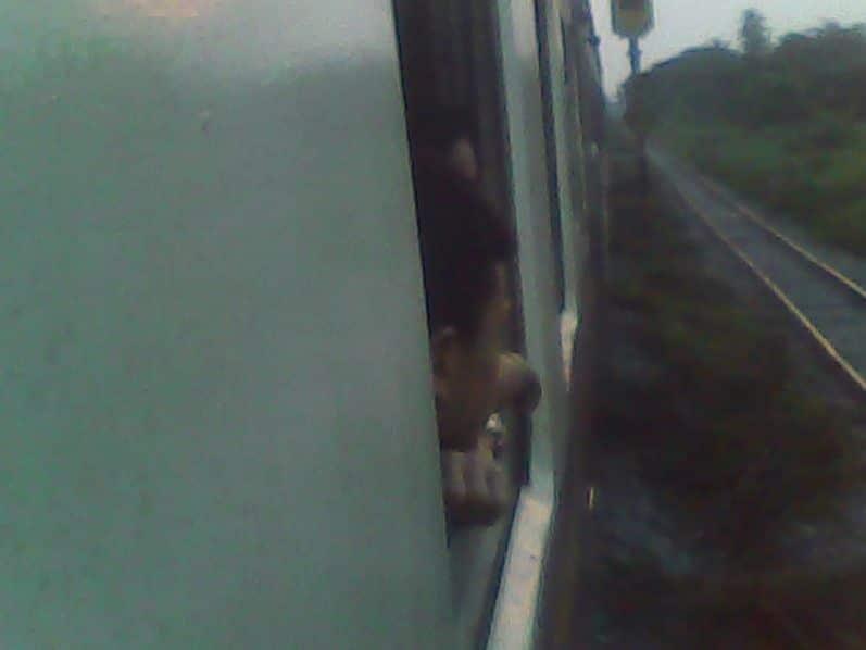 Un Viaje En Tren En Tailandia