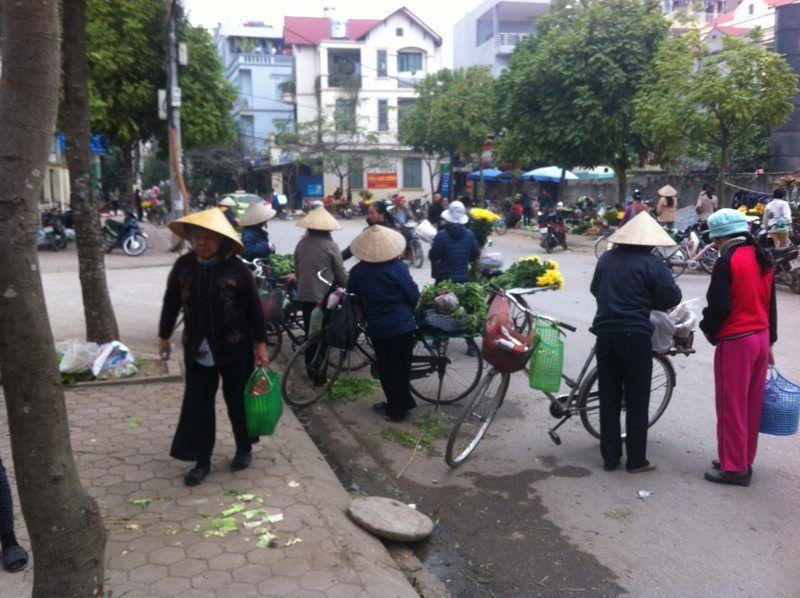 entre China y Vietnam. Hanoi