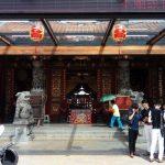 Uno de los templos visitados