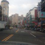 Calles de Taipei, buscando donde comer