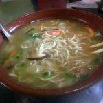 Noodles en sopa, el segundo día