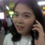 Winnie al teléfono recién encontrados en la parada de metro