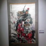 Cuadro de pintura china