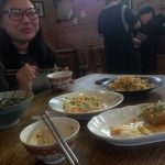Comida con Nidia