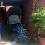 Un viejo triciclo de Zhunan