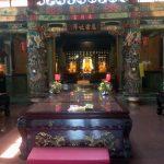 Interior del templo de Zhunan