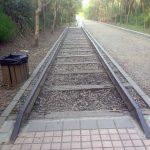 Un trozo de vía se mantiene para la posteridad