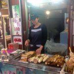 Puesto de comida en Jiufen