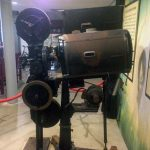 Viejo proyector de cine