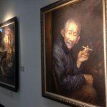 Exposición de cuadros en Chiang Kai-shek M. H.