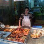 En el mercado: comida preparada
