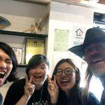Zhi Ming, Singney, Nicole y yo cuando me despedí