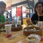 Con Huang y Tina