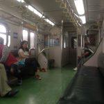Viajando en el tren de Toucheng a Keelung