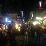 Paseando por el mercado nocturno