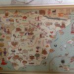 El mapa de España con el que expliqué características del país