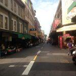 Las calles del mercado de Shuixian-gong