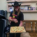 Mi pizza para la cena con la familia de Rocío