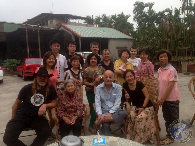 La familia de Grace y Liza