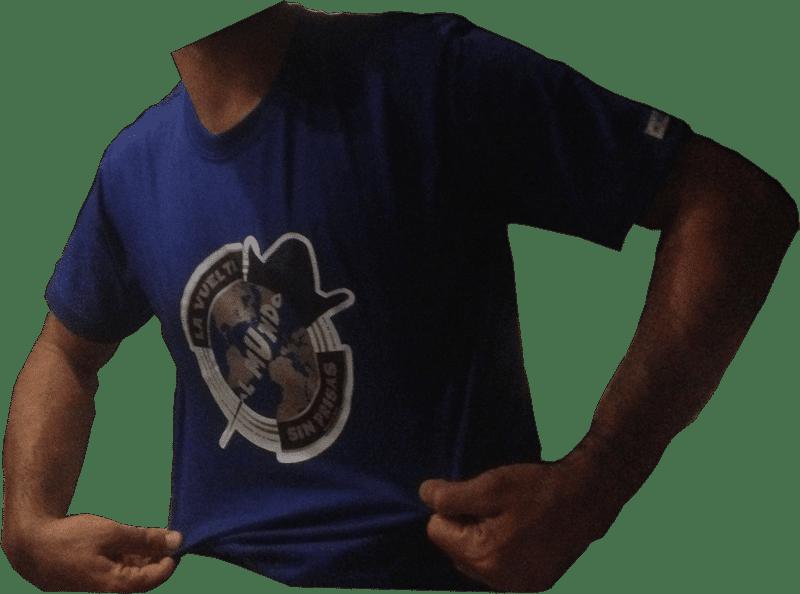 Camiseta La Vuelta al Mundo Sin Prisas