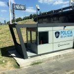 Control de carreteras de la policía de Buenos Aires