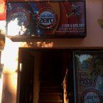 La entrada a la radio Radio Zero