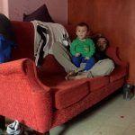 Javier con Thiago