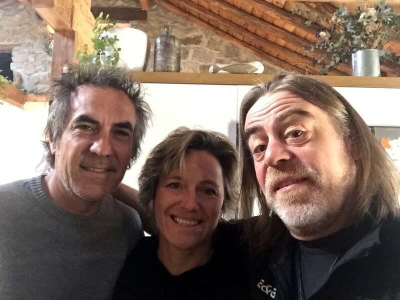 Agradecimientos: José Mellado e Iris