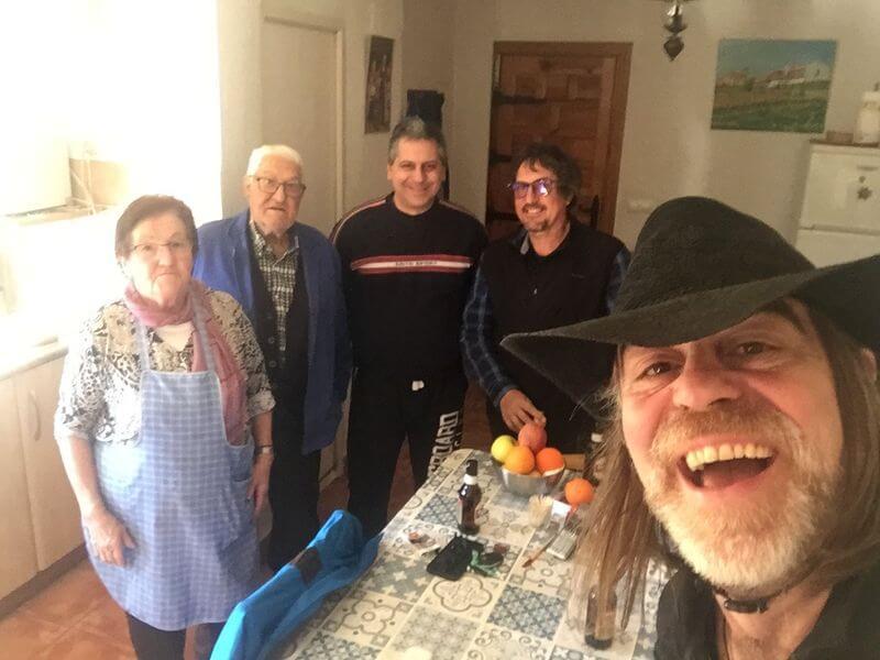 Agradecimientos: Lucia, Pepe, Alberto y José Francisco