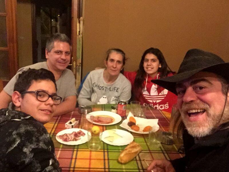 Agradecimientos: Alberto, Cristina y familia