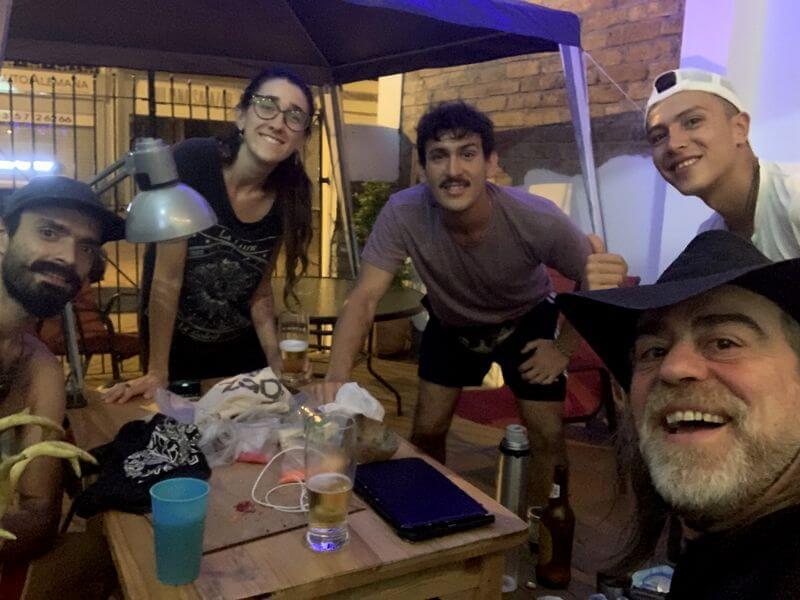 Agradecimientos: Tata, Joana, Joaquín y Sebas
