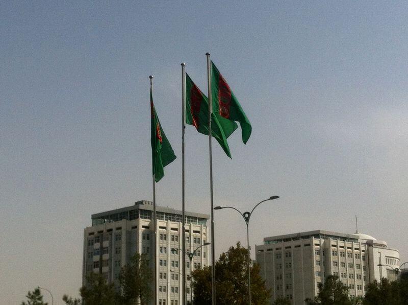 Viajar a Turkmenistán