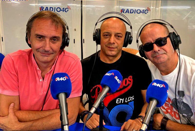 Juju, Ramón y Coco en la radio