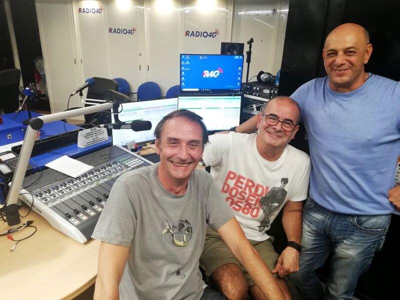 Juju, Ramón y Coco en la radio divertidos
